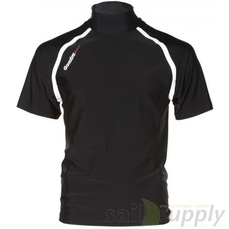 Gaastra Pro lycra short sleeve Carnac, zwart, S