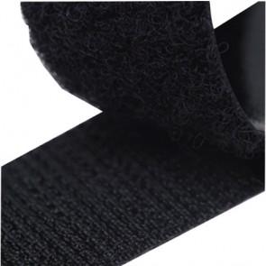 ZipFix klittenband (haak+lus) - zwart