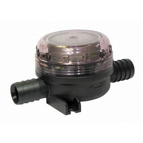"""Jabsco Fijn Filter Inline 19mm-3/4"""" slang-slang Toiletpomp Pumpgard"""