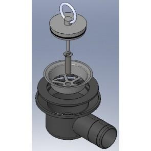 Thetford Siphon afvoer 25mm aansluiting