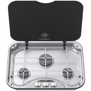 Thetford Basic 345 3-pits kooktoestel met afdekplaat