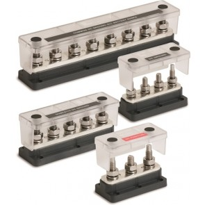Pro Installer 8 Stud Heavy Duty Busbar and Cover -650 Amp