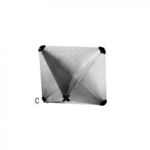 Plastimo radarreflector achtvlakkig 7m2