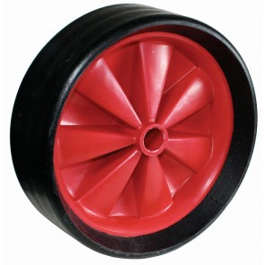 Optiparts massief rubber wiel 28cm zonder lucht