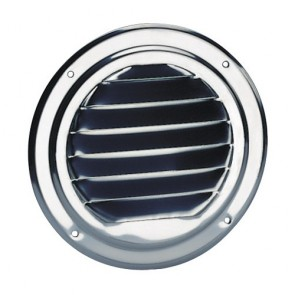 Ventilator rooster rond 125mm 316RVS