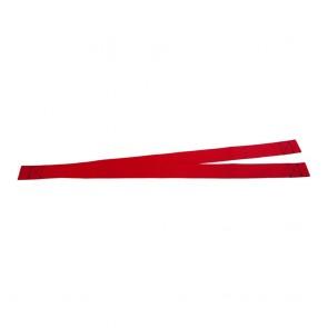 Optiparts Optimist hangband ongevoerd rood (paar)