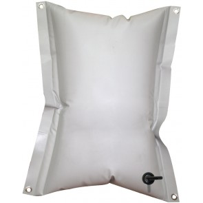 Lalizas rechthoekige flexible water tank 55 ltr, 74x60cm, grey