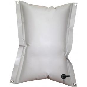 Lalizas rechthoekige flexible water tank 120 ltr, 74x125cm, grey