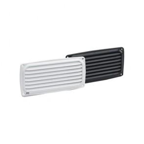 Plastimo ventilatierooster wit 200 x 100 mm