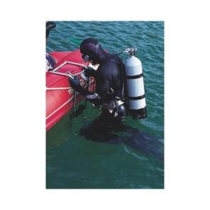 Plastimo zwemtrap voor opblaasboten