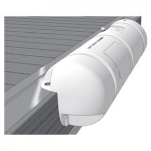 Plastimo steigerbumper 3/4 25x90cm wit