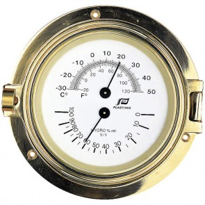 Plastimo Thermo-Hygrometer koper 4,5 inch