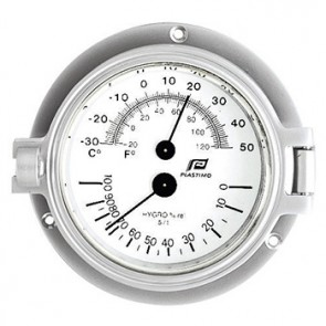 Plastimo thermometer-hygrometer 3inch matverchroomd