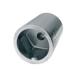 Conische moer anode hexagonaal 22-25mm