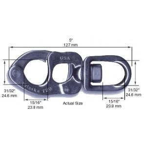 sluiting 127mm standaard T20 S