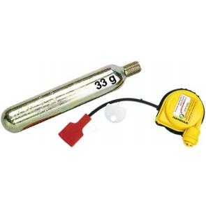 Plastimo reddingsvest herlaadset 33 gr 150N hammar