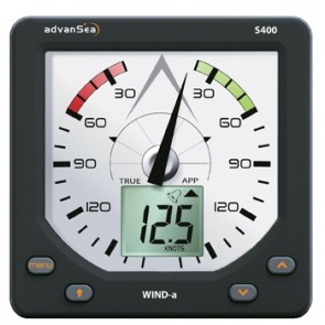 AdvanSea Wind analoog S400 + masttopunit