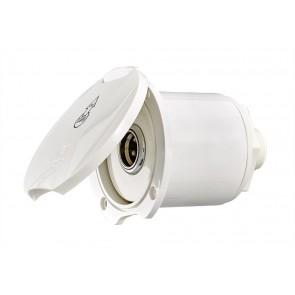 Plastimo dekwaspomp aansluitset wit recht