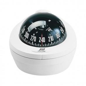 Plastimo Offshore75 kompas opbouw wit/zwart ZABC