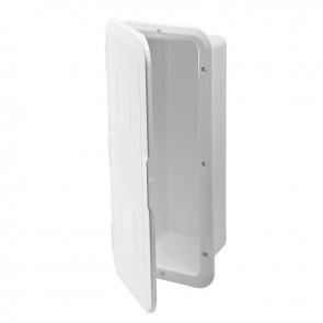 Lalizas storage case brandblusser witte deur - 1kg - wit