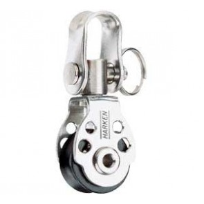 Harken 16 mm enkel blok + swivel