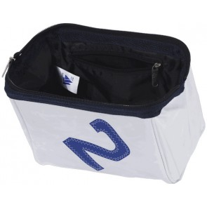 Bainbridge Toilet-tas Zeildoek Large Wit