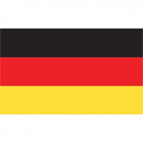 Lalizas german flag 20 x 30cm