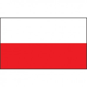 Lalizas polish flag 20 x 30cm