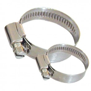 Lalizas hose clamp inox 304, 12mm, 80-100mm