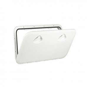 Lalizas top line hatch, white, 353x606mm