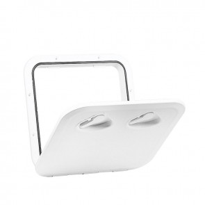 Lalizas top line hatch, white, 370x375mm