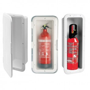 Lalizas storage case f/fire extinguisher 1kg, we