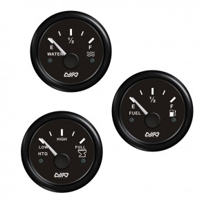 Lalizas fuel level gauge, 0-190 ohm