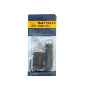 Lalizas marine plug and socket set, 12v