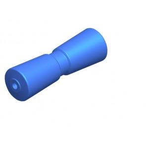 Talamex V-kielrol PU L200mm 75mm as 16mm