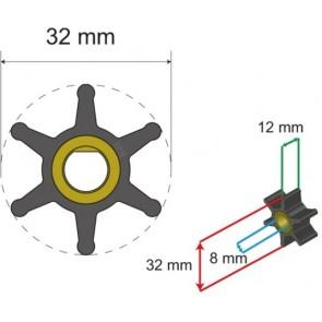 Albin Premium Impeller kit nr. 06-01-001
