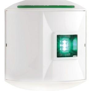 Aqua Signal Serie 44 led stuurboord wit 12/24V
