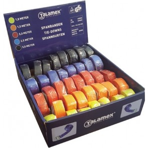 Talamex Spanband assortiment 5 kleurenx8 stuks