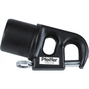 Pfeiffer Marine Spiboom beslag voor buis 25x2.0mm