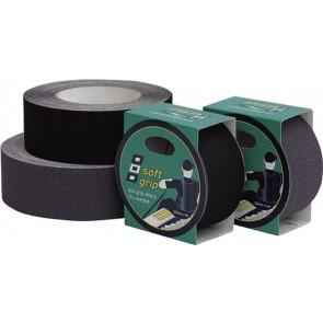 PSP Soft grip rubber zwart 100mm 2m