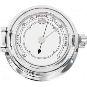 Talamex Barometer massief verchroomd 115/84mm