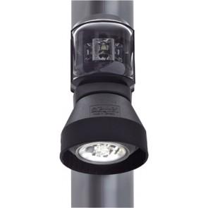 Aqua Signal Serie 43 combi mast/voordek zwart