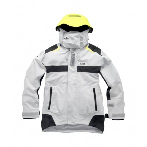 Gill OC Racer Jacket Silver capuchon