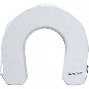 Baltic hoefijzer reddingsboei wit