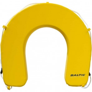 Baltic hoefijzer reddingsboei geel