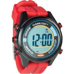 Ronstan Clear start horloge 40mm rood/zwart