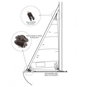 Barton bt356 rolfok trommel tot 6m2 - 76mm