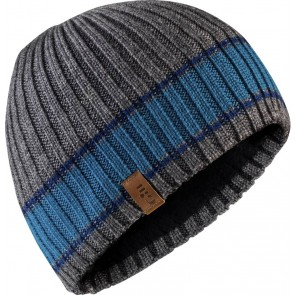 Gill Band Stripe Beanie grey