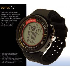 Optimum OS series 12 R starthorloge zwart