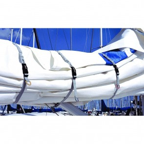Blue Performance Sail Clips set (3 stuks) Medium